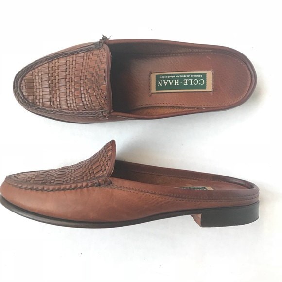 ac5f8bfcd42 Cole Haan Shoes - Cole Haan Mules Slip On Loafer Slides 7.5 Shoes